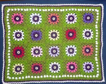 Field of Flowers Baby Cover Blanket