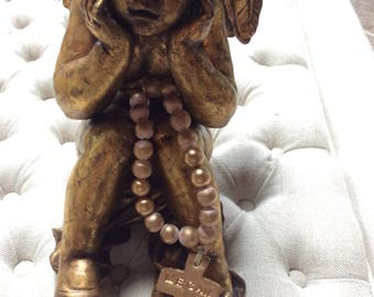 Petite custom name Blessing Beads