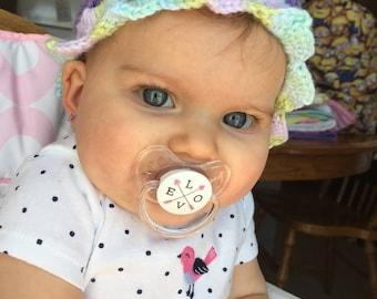 Crochet Baby Spring Hat