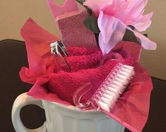 Pink & Whites Nail Set