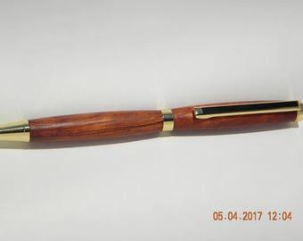 Bloodwood twist pen 1033
