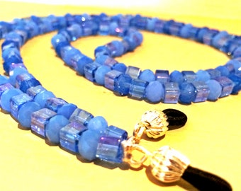 Skies of Blue - Eyeglass Chain