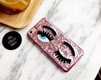 The Wink eye phone case