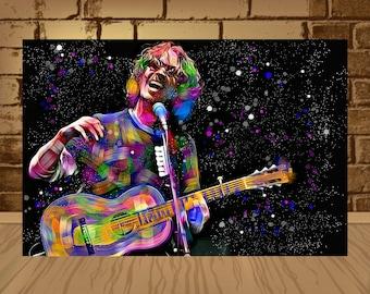 Chris Cornell Print, Chris Cornell Poster, Chris Cornell Decor,Chris Cornell Art, Home Decor, Gift Idea,Soundgarden Poster,Soundgarden print