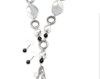Total Eclipse of the Heart Necklace & Earrings