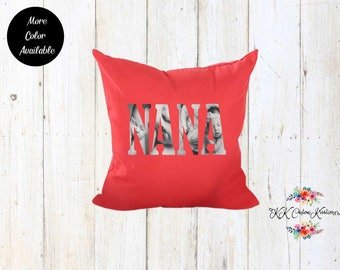 Custom Photo Pillow-Decorative Pillow- Photo Image- Throw Pillow- Cushion Pillow-Custom Decorative Pillow-Pillow Cover with Insert-NANA