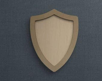 Frame Kit, Shield, Wood Frame, Picture Frame, DIY