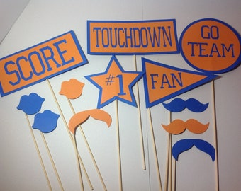 photo booth football props