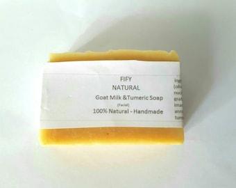Goat milk & Tumeric face soap