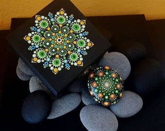 BarbaraMandalaTFS#32  Mandala Multicolor Jewellery Box#Summer 2017