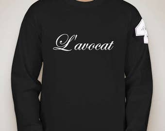 L'avocat Du Diable Signature Long Sleeve T-Shirt