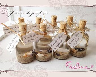 Mini Diffuseur de parfum mini pour offrir à vos invités, mariage et baptême