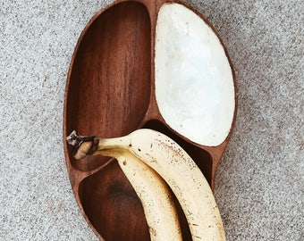 Mango Hawaiian Monkeypod Wood Dish / Bowl
