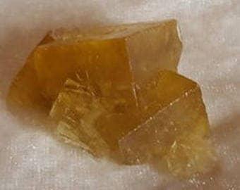 Hard to obtain - Super Yellow Fluorite ~ Golden Fluorite ~ Crystal of Unity