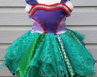 Ariel Inspired Princess Dress