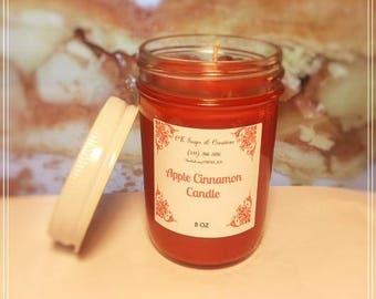 Apple Cinnamon 8oz Candle