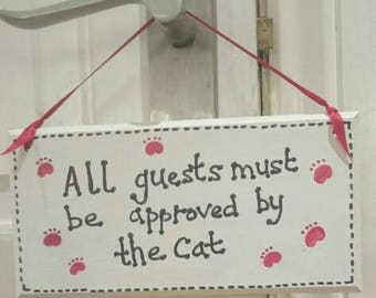 Cat/Dog lover Handmade to Order Plaque