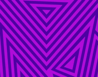 Purple Triangles Backdrop