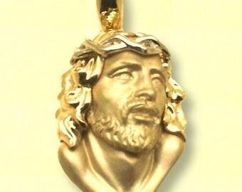 Christ's face pendant