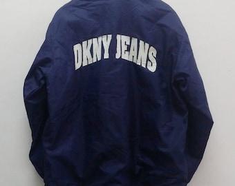 Vintage DKNY JEANS Blue Jacket -A017