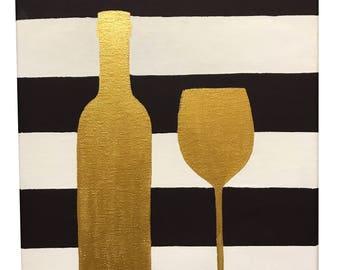 Wine Canvas