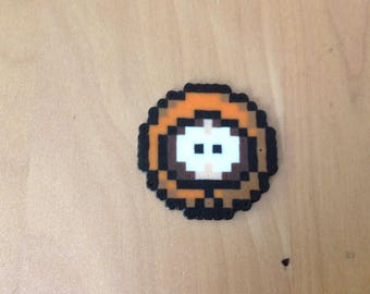 Kenny from South park in hama beads keychain