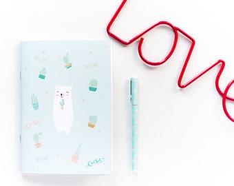 Diary Notes Bear Linen