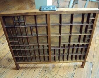 Vintage Printers Tray, Antique Printer Tray, Printers Drawer, Old Printers Tray, Wood Printers, Wood Tray, Wooden Tray, Wooden Printers