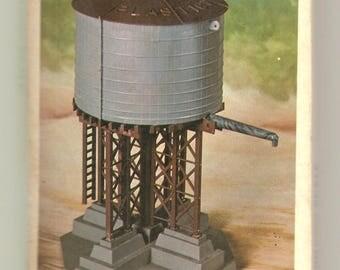Bachmann Plasticville U.S.A. Watertank for an electric train setup O-S scale Water Tank 1916 NIB