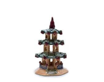 Pagoda figurine