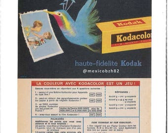 Advertising years 50 KODAK paper color