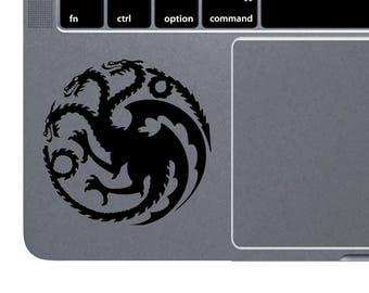 Game Of Thrones MacBook Decal MacBook Sticker Targaryen Symbol Laptop Decal Daenerys Laptop Sticker MacBook Air 13 Dragon MacBook Pro m1160