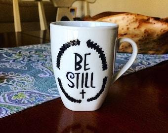 Be Still Psalm 46:10 Mug