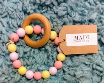 Baby Teether – Wood Ring