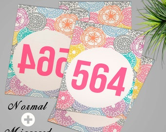30% OFF!!! Facebook live sales tags, Mirrored tags + Normal Tags, 000 999, numbers tags, LLR, Home Office Approved, Marketing, Printable