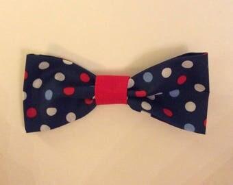 Patriotic Dog Bow Tie