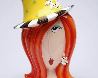 Lady Cookie Jar - Daisy Lady