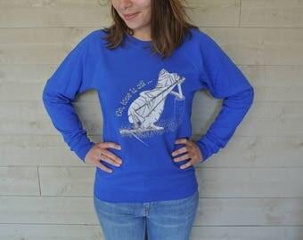 Sweatshirt woman Chameleon