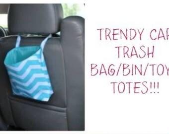 Car trash bin/tote