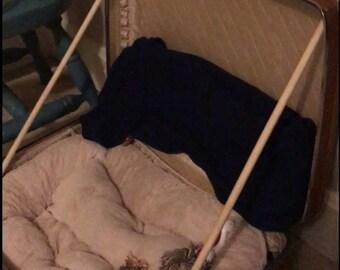 Suitcase Pet Bed