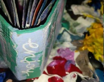 Mini Art Journal Enjoy