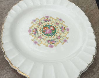 Melody Platter from Vanity Fair Dinnerware