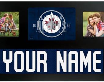 Winnipeg Jets NHL Jersey Custom Picture Frame