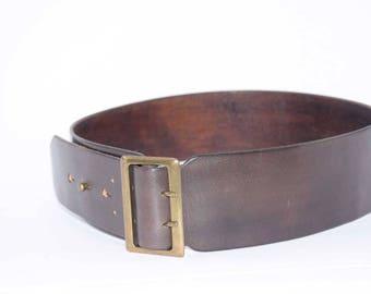 Womans Leather Waist Belt