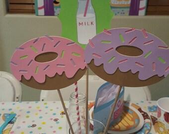 Donut Party Centerpiece