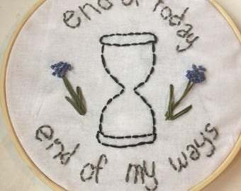 addict with a pen by twenty one pilots embroidery