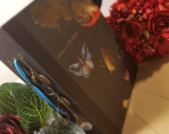 Bronze Butterfly Mini Album