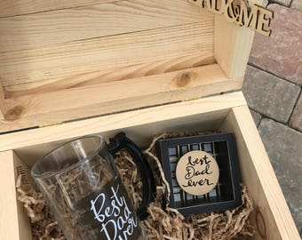 Father's Day Wood Gift Box