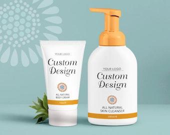 Custom Package Label - Packaging Design - Custom Design - Graphic Design - Branding - Label Design