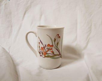 70s Flower Mug